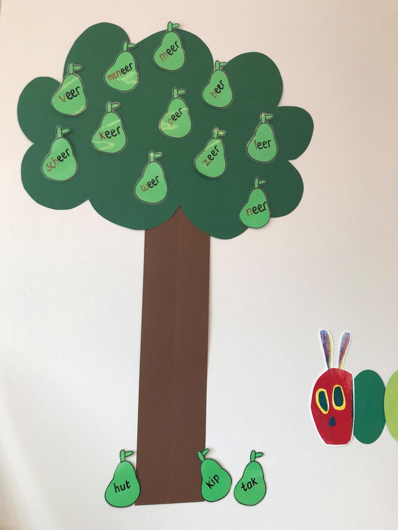 Inspiratieblog: spelenderwijs rijmen met de rijmboom