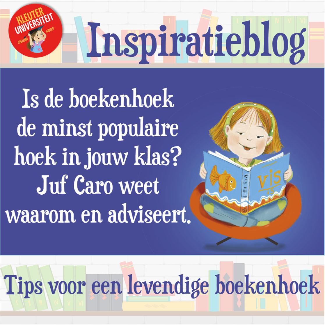 Inspiratieblog: zo maak je de boekenhoek een aantrekkelijke hoek