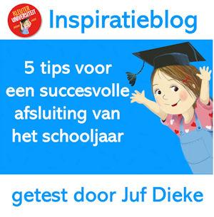 Inspiratieblog: 5 tips voor succesvolle afsluiting van het schooljaar
